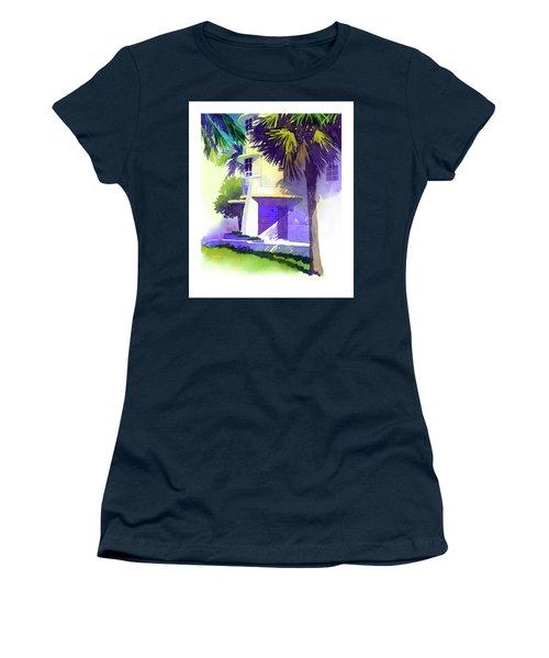 Art Deco Hotel Miami Women's T-Shirt