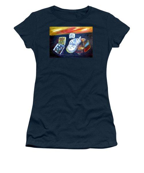Artists Dream Women's T-Shirt (Junior Cut) by Clyde J Kell