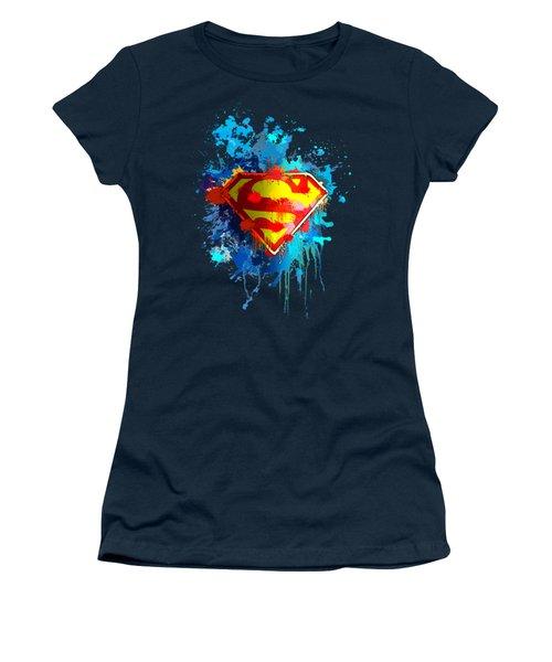 Smallville Women's T-Shirt (Junior Cut) by Anthony Mwangi
