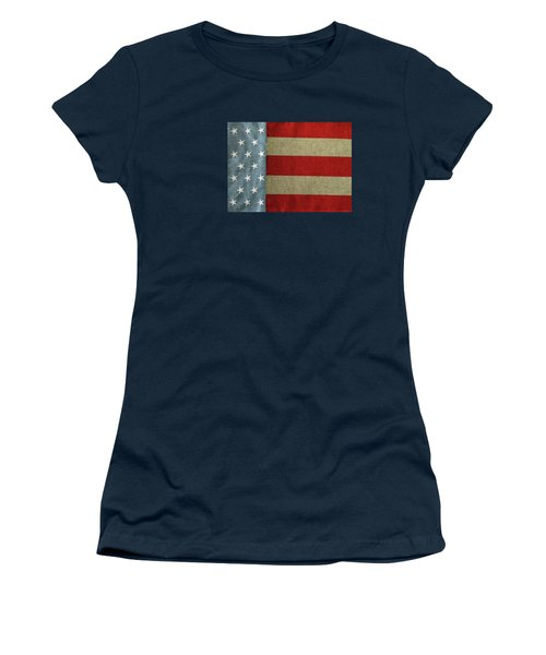 The Flag Women's T-Shirt (Junior Cut) by Tom Prendergast