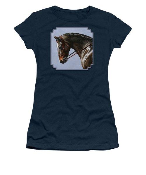 Horse Painting - Discipline Women's T-Shirt