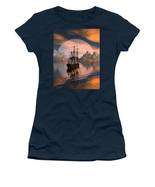 At Anchor Women's T-Shirt (Athletic Fit)