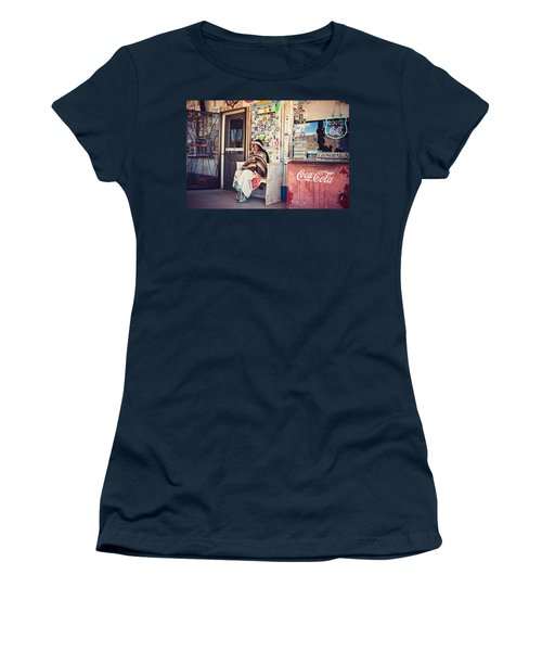 At The Hackberry General Store Women's T-Shirt (Athletic Fit)