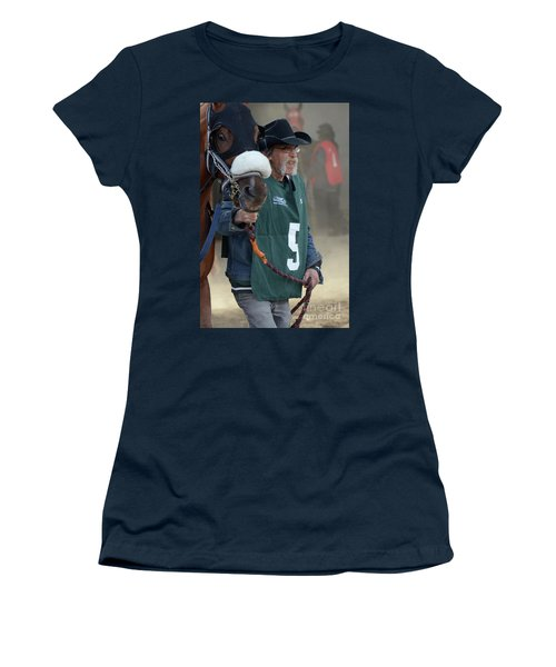 At The Racetrack 5 Women's T-Shirt