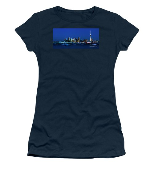 Auckland City Night Lights Women's T-Shirt (Athletic Fit)