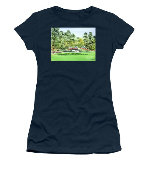 Augusta National Golf Course Women's T-Shirt (Athletic Fit)
