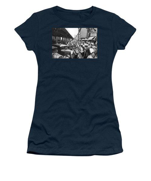 Auto Accident Scene Women's T-Shirt