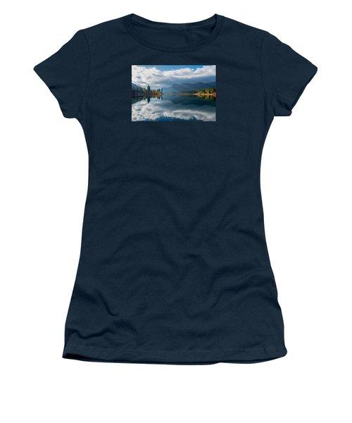 Autumn Along The Pend Oreille River Women's T-Shirt