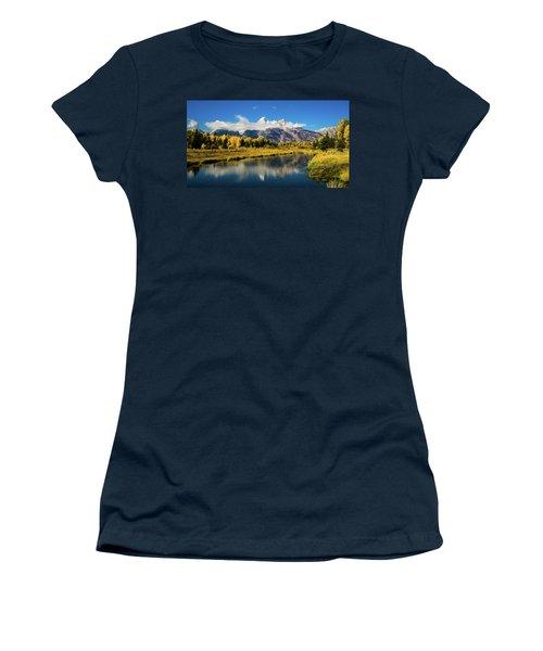 Autumn At Schwabacher's Landing Women's T-Shirt