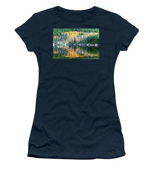 Autumn Mirror At Bear Lake Women's T-Shirt