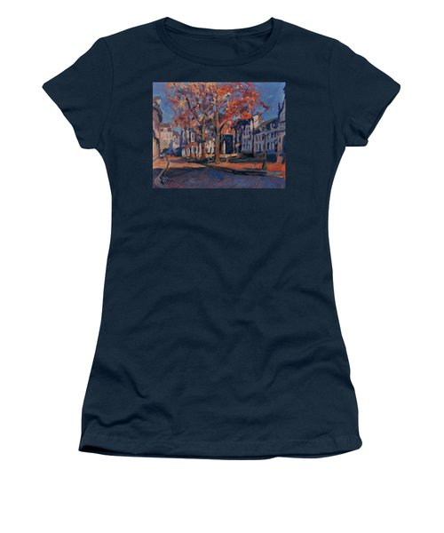 Autumn On The Square Of Our Lady Maastricht Women's T-Shirt