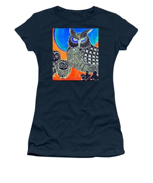 Awls Are Cool Women's T-Shirt (Junior Cut) by Sandra Lira