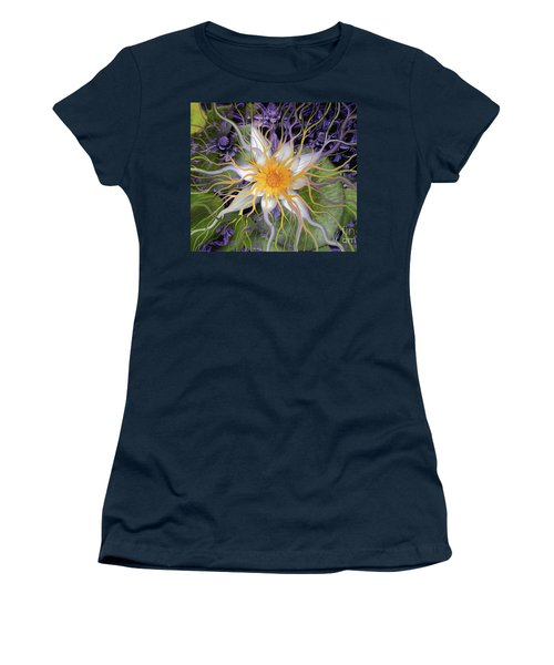 Bali Dream Flower Women's T-Shirt (Junior Cut) by Christopher Beikmann