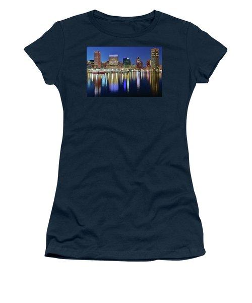 Baltimore Blue Hour Women's T-Shirt (Junior Cut)