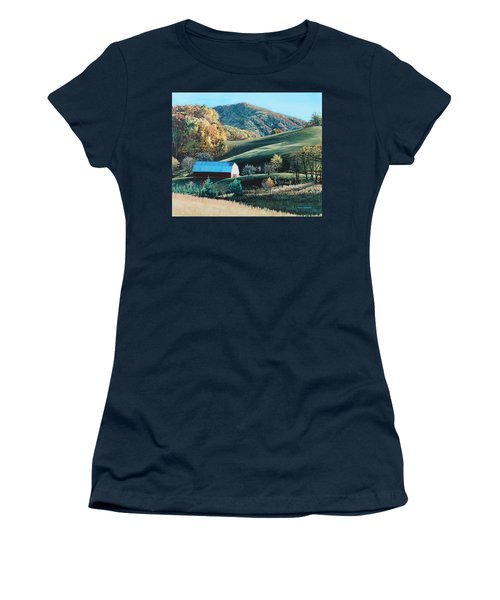 Barn At Blowing Rock Women's T-Shirt (Athletic Fit)