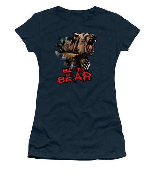 Be The Bear Women's T-Shirt (Athletic Fit)