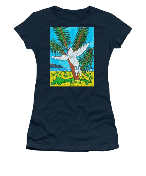 Beach Bird Women's T-Shirt (Athletic Fit)