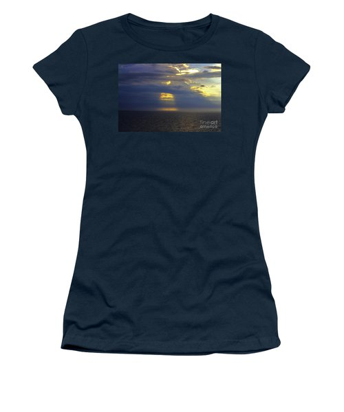 Beam Me Up Women's T-Shirt (Junior Cut) by Patti Whitten