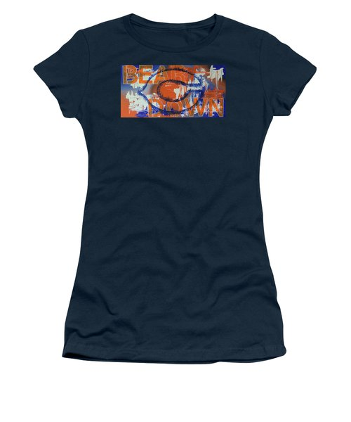 Bear Down Women's T-Shirt (Junior Cut) by Melissa Goodrich