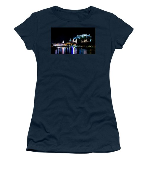 Women's T-Shirt (Junior Cut) featuring the photograph Beautiful Salzburg by David Morefield