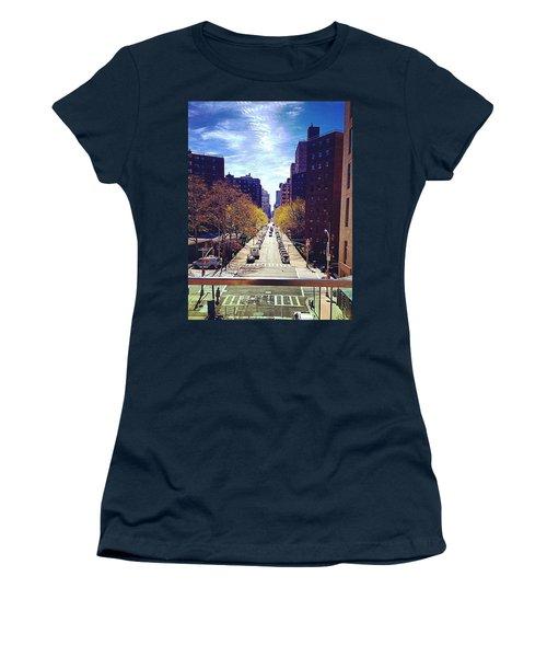 Highline Park Women's T-Shirt (Junior Cut) by Mckenzie Weldon