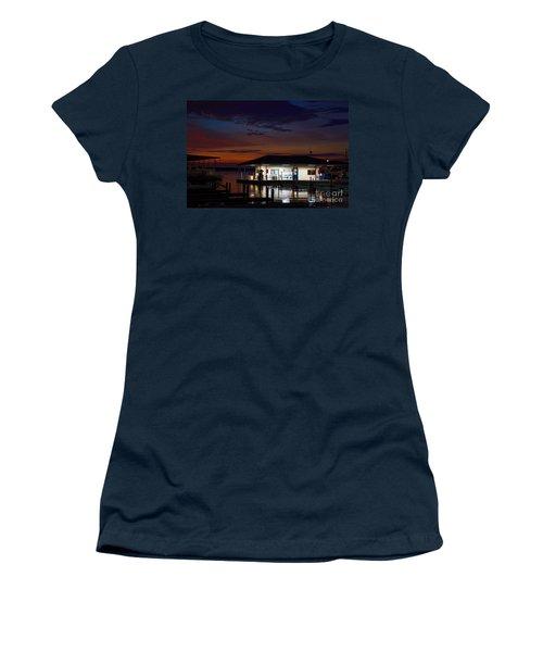 Before Sunrise Women's T-Shirt (Junior Cut) by Diana Mary Sharpton