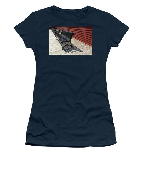 Bench Lines And Shadows 0841 Women's T-Shirt