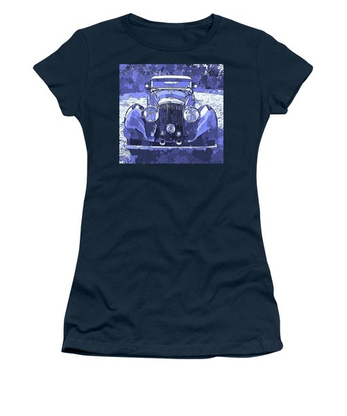 Bentley Blue Pop Art P2 Women's T-Shirt
