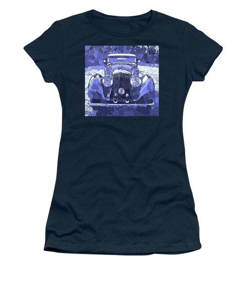 Bentley Blue Pop Art P2 Women's T-Shirt