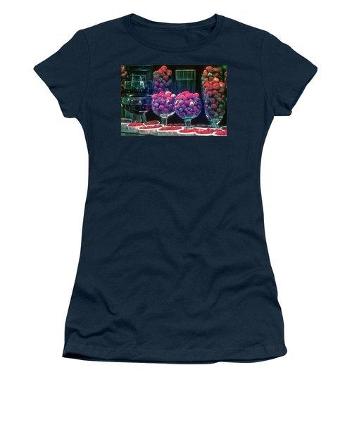 Berries In The Window Women's T-Shirt