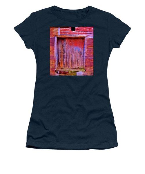 Berryville Shed Women's T-Shirt (Junior Cut) by Glenn Gemmell