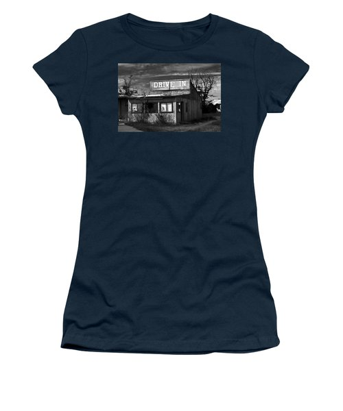 Better Days - An Old Drive-in Women's T-Shirt (Athletic Fit)