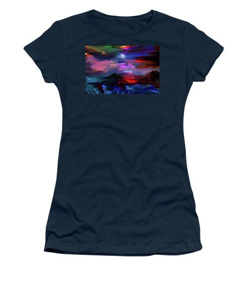 Beyond The Blue Horizon Women's T-Shirt (Athletic Fit)