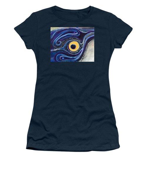 Birds Eye Women's T-Shirt (Junior Cut) by Leela Payne