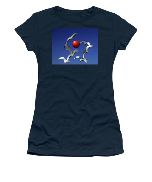 Women's T-Shirt (Junior Cut) featuring the photograph Blades And Ball by Christopher McKenzie