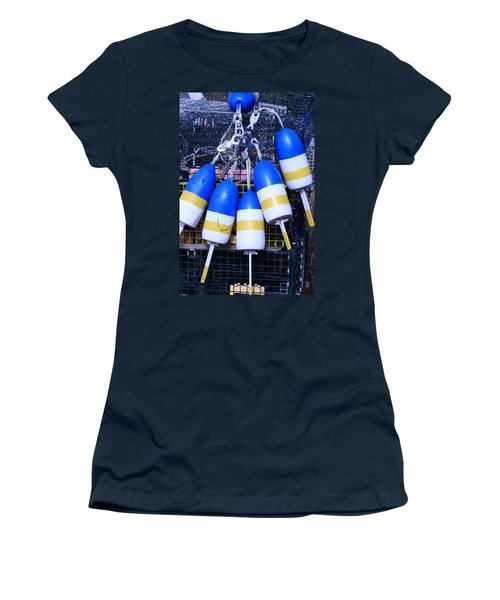 Blue And Gold Bouys Women's T-Shirt