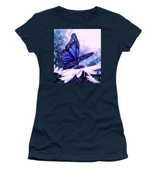 Blue Heaven Women's T-Shirt (Junior Cut) by Hazel Holland