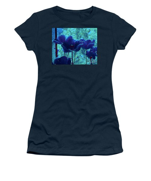 Blue Mood Women's T-Shirt (Athletic Fit)