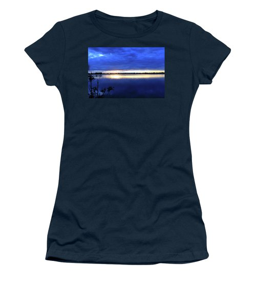 Blue On Blue Women's T-Shirt (Athletic Fit)
