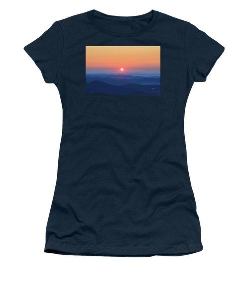 Blue Ridge Sunrise Women's T-Shirt (Athletic Fit)