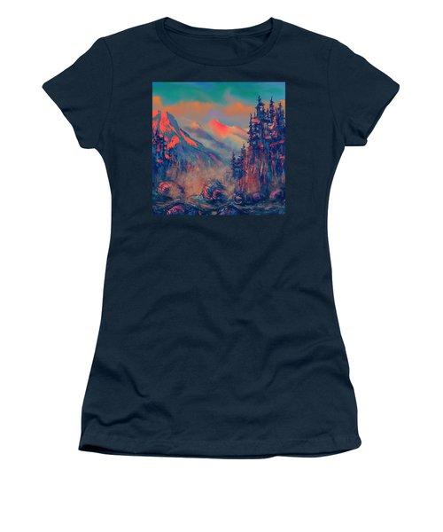 Blue Silence Women's T-Shirt