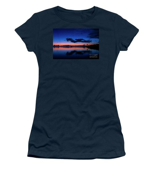 Blue Sky Night Women's T-Shirt (Athletic Fit)