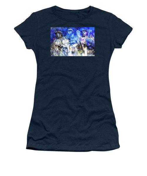 Blue Symphony Of Angels Women's T-Shirt
