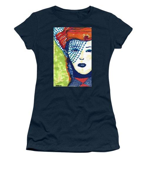 Blue Veil Women's T-Shirt (Junior Cut) by Don Koester