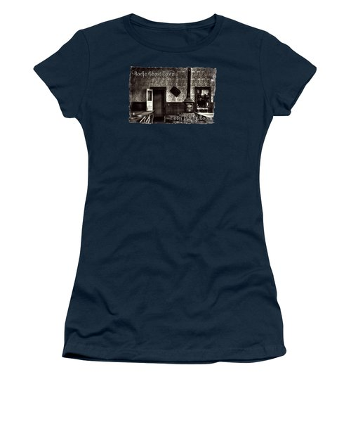 Bodie Hotel Dining Room With Pool Table Women's T-Shirt (Athletic Fit)