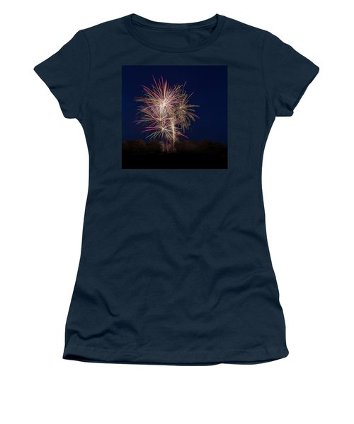 Bombs Bursting In Air IIi Women's T-Shirt (Athletic Fit)