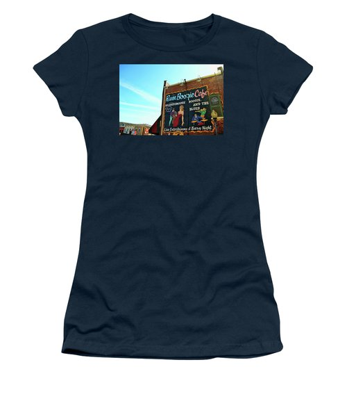 Boogie And Blues Women's T-Shirt (Junior Cut) by JAMART Photography