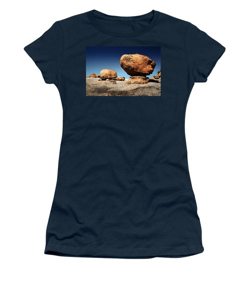 Boulder On Solid Rock Women's T-Shirt