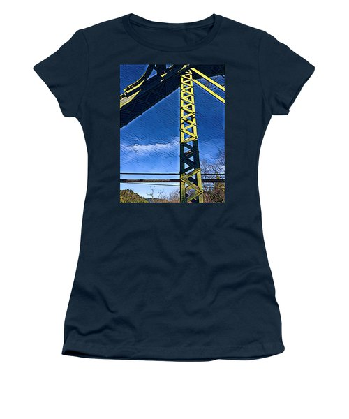 Bridge At Guerneville Women's T-Shirt