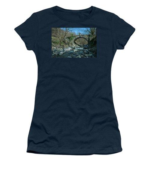 Bridge Over Peaceful Waters - Il Ponte Sul Ciae' Women's T-Shirt